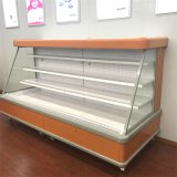 Supermercado refrigerada semi abierto de Multideck Display Chiller Nevera para comestibles
