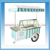 熱い販売の移動式アイスクリームのファースト・フードのカート