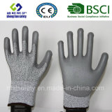 13G de gesneden Bestand Met een laag bedekte Handschoen van het Werk van de Veiligheid met Pu