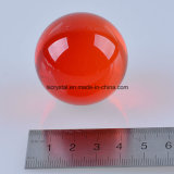 40mm装飾のための7つのカラークリスタルグラスのゆとりの球