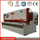 Beste Qualitätschina-Marke CNC-scherende Maschine, CNC-hydraulische Guillotine-Schere, überziehen rostfreie abgeschnittene Maschine