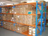 Sistema industrial da cremalheira do armazenamento da prateleira clara do dever