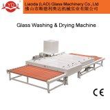 Le nettoyage du verre de la machine à laver à l'horizontale