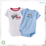 0eko Certification Baby Clothes 100% Algodón Plain Baby Onesie