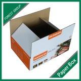Caixa ondulada feita sob encomenda da caixa para a venda por atacado em Shanghai