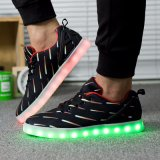 Kundenspezifische LED-Schuhe für Weihnachten, Stab, Disco