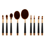 Vente en gros 9PCS Professional Cosmetic Toothbrush Golf Makeup Brush Set