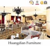 最高の贅沢な家具の契約の家具の木のホテルの寝室の家具(HD425)