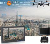 16: 9 Pas d'écran bleu Ecran LCD 10,1 pouces pour photographie aérienne