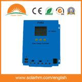 regulador solar del cargador 50A48V con el panel solar para la energía solar