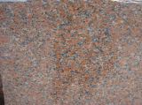Dalles de granit rouge chinois G564 Maple granit rouge