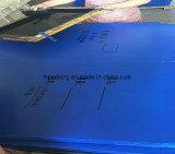 De corona behandelde het Waterdichte/Opnieuw te gebruiken pp Golf Plastic Stevige Ondoorzichtige Wit van het Blad/van het Blad van pp Coroplast voor Signage 4mm 5mm 6mm van de Druk