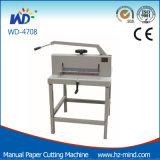 Fabricante profesional de un tamaño A3 WD-4708 Gullotine Manual de papel