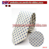 Il banco di seta del poliestere della cravatta lega gli accessori del cavo delle cravatte (B8006)