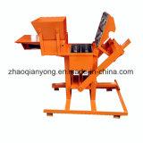 Verkaufsschlager-kleine manuelle blockierenlehm-Ziegelstein-Maschine