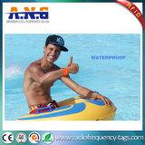 13,56MHz Hf RFID MIFARE Pulseira de silicone para piscinas Waterparks