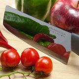 """6 """"ミラーの刃の陶磁器のダマスカスKnife&Vegetのナイフ及び包丁"""