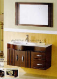 Moderne festes Holz-Badezimmer-Schrank-Eitelkeit (JX-VCSW002)