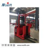 Caminhão de Forklift elétrico 1000 quilogramas máquina desbastadora do pedido da potência de C.A. de 4500 milímetros com mastro frente e verso