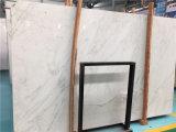 Tuile de marbre blanche en pierre naturelle