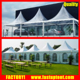 De witte Tent van de Pagode van pvc van het Aluminium Hoge Piek voor de Gast van Seater van 250 Mensen