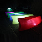 Sac de couchage sofa gonflable// lit, d'Air Bag Sac de couchage de plein air colorés de l'air avec LED