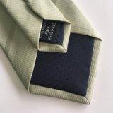 2017 Newliest Shengzhou faite à la main Micro cravate tissé de fibres polyester jacquard