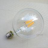 Do filamento de vidro da luz de bulbo G80 de Edison do globo de Dimmable bulbo de vidro do diodo emissor de luz G95 G125