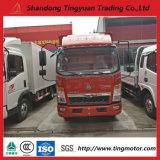 5 camion di Sinotruk HOWO di tonnellata mini/Van 84HP Euro 2 per l'Africa