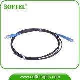 SC/PC FTTHのドロップ・ケーブルの屋外の光ファイバパッチ・コード