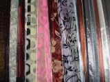 Voile with Flocking Curtain Fabric