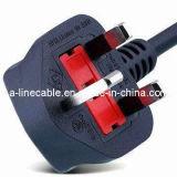 Соединенное Королевство 3-контактный кабель питания с Bsi (AL-199)