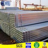 Galvanizado en caliente de tubo estructural de la plaza o tubo de 100x100mm (JCGS-02)