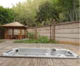 Piscina Luxiouis 4 6 8 10 Queda na banheira de hidromassagem jacuzzi