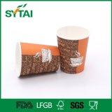 8oz Wholesale kundenspezifisches hochwertiger einzelner Wand-Kaffee-Papiercup