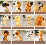 Diversos Bobbling perro cabeza figurita miniatura