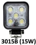 """5 """"スイッチが付いている円形25W頑丈で強力なLED作業ライト: 磁気ベースとインストールされる(別に販売される)"""