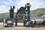 Tipo de tratamento por lotes móvel planta de mistura 128t/H do asfalto