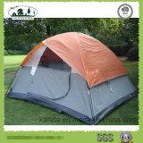 tenda di campeggio mezza del coperchio di doppi strati 4p