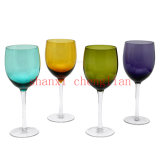 Copos de vinho de cor sólida (BI-WG01)