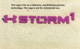 Personnaliser le logo d'impression de transfert de chaleur en silicone largement utilisé pour les accessoires