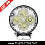 Alta qualità indicatori luminosi solari rotondi del lavoro da 3 pollici 9With12W mini LED