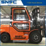 Forklift Diesel 3ton de Snsc com cabine