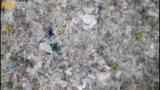 Il grande sacchetto dei pp ricicla la riga di lavaggio e la macchina di riciclaggio di plastica