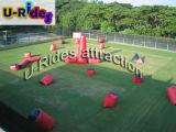 Giochi gonfiabili di Paintball, campo gonfiabile di Paintball