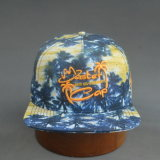 Chapéu liso quadrado colorido da borda