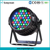 Indicatore luminoso esterno della fase dello zoom di PARITÀ di 54X3w DMX 4in1 RGBW LED