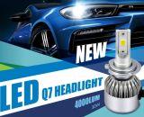Série da lâmpada Q7 do diodo emissor de luz do poder superior 40W 4000lm de Cnlight farol H1 H3 H7 H4 9005 do diodo emissor de luz da auto auto 9006 bulbos do farol do diodo emissor de luz do carro
