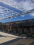 El profesional diseñó el taller prefabricado/el edificio/Wearhouse de la estructura de acero/vertido