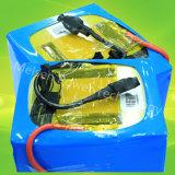 Bateria de carro cobrando rápida do lítio